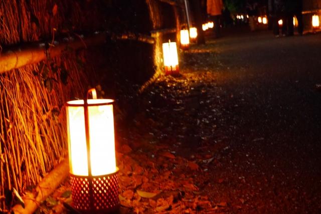 嵐山花灯路2016の日程と雨天時のライトアップ、晩御飯事情など
