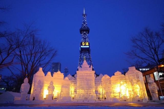 札幌雪祭りを子供と楽しむ!イベント・グルメ・服装・靴情報